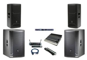 один из вариантов звуковых комплектов
